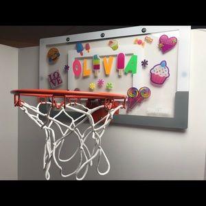 Other - 🏀Personalized over the door basket ball hoop🏀